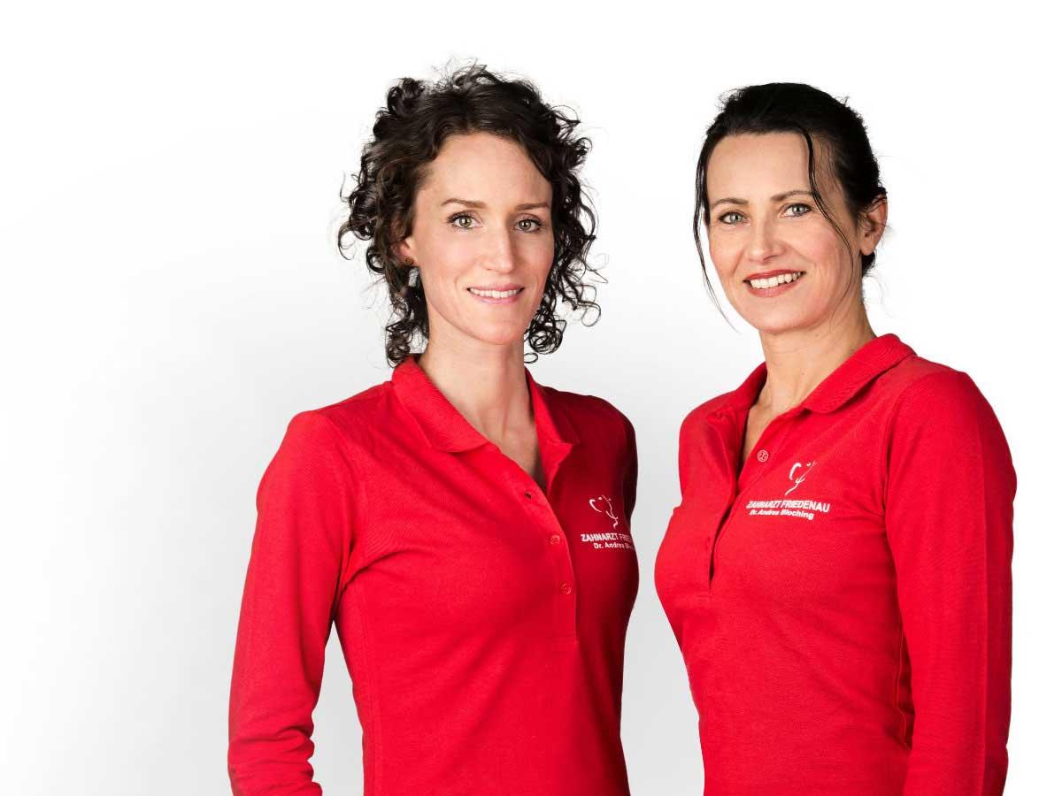 Zahnarzt Berlin Friedenau Steglitz Zahnärztinnen Dr Andrea Bloching Kitty Spits